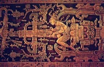 マヤ文明のロケット・都市伝説