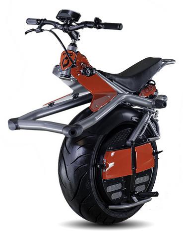 ドラゴンボールに出てきそうな電動一輪バイク「RYNO」がかっこいい!!