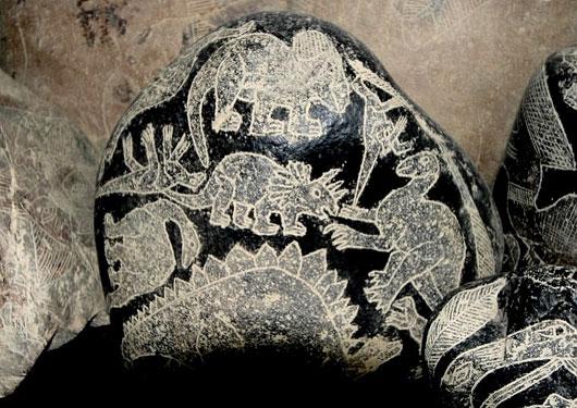 カブレラ・スト—ン(恐竜石)画像