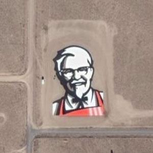 カーネル・サンダースの地上絵