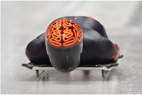 奇抜すぎるヘルメット!カナダ・スケルトン選手 #ソチ五輪 #ソチオリンピック #カナダ