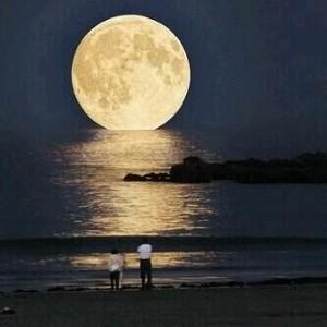 日本人には信じられない映像【神秘編】世界一月が大きく見える場所